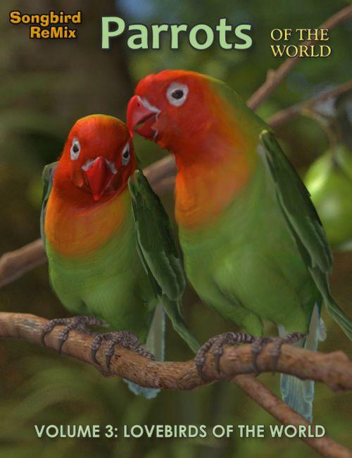 SBRM Parrots Vol 3 - Lovebirds of the World