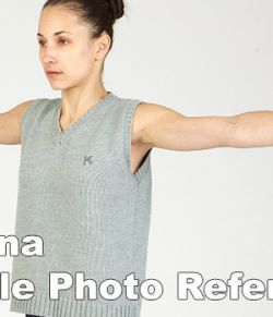 Adriana High Res Skin Texture Photo Set