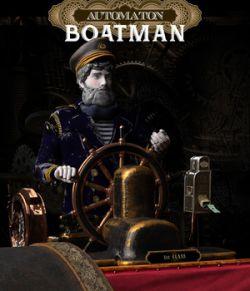 Boatman Automaton for Daz Studio