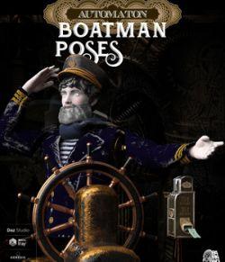 Boatman Automaton Poses for Daz Studio