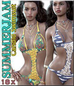 SummerJam - Candid Swimsuit