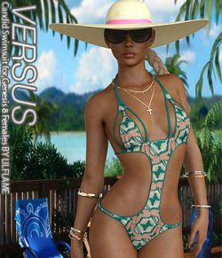 VERSUS - Candid Swimsuit for Genesis 8 Females
