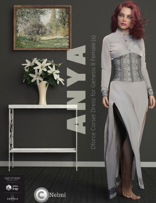 Nelmi - Anya Corset Dress G8F