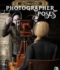 Photographer Automaton Poses for Daz Studio