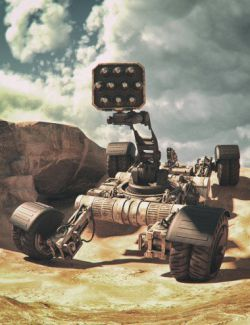 Sci-fi 4X4 Textures Set