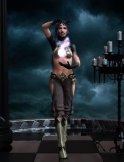 Djinn Poses for Genesis 8 Female