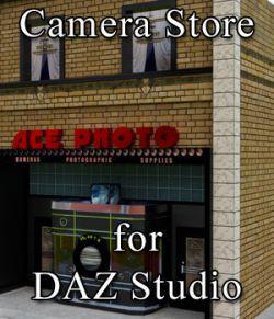 Camera Store for DAZ Studio