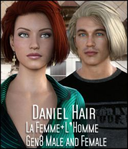 Daniel Hair L'Homme, La Femme, Gen 8 Male/Female