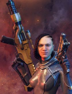 AER Future Firearms: Energy Weapons for the Genesis 8 Female