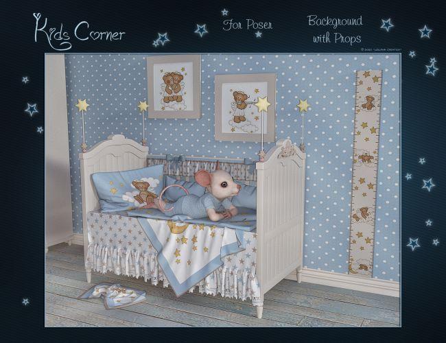 Kids Corner for Poser