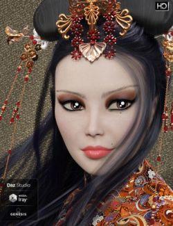 Ayame HD for Genesis 8 Female