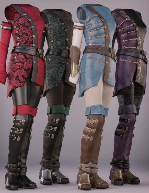Sabriel Outfit Textures