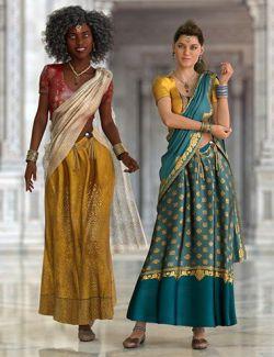 Saree: Charu