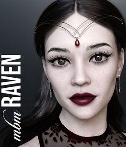 MbM Raven for Genesis 3 & 8 Female