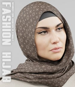 dForce Fashion Hijab - G8F
