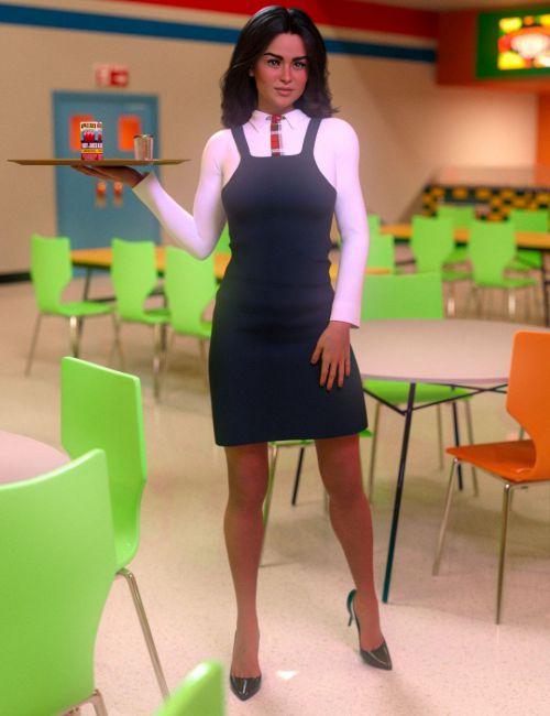 FG School Uniforms for Genesis 8 Female(s)