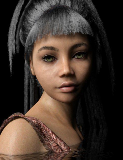 D.E.M. Alejandra for Genesis 8 Female