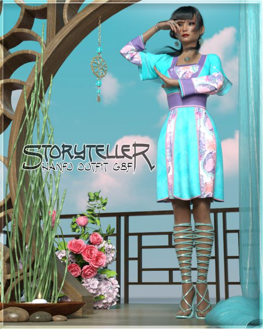 Storyteller Hanfu G8F
