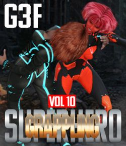 SuperHero Grappling for G3F Volume 10