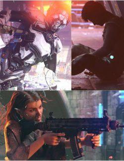 Urban Warfare Poses for Genesis 8