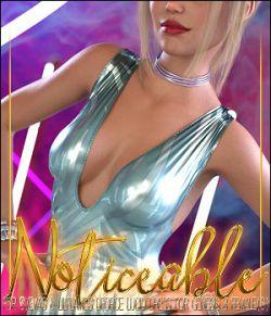 Noticeable for dForce Lucid Dress for Genesis 8 Female(s)
