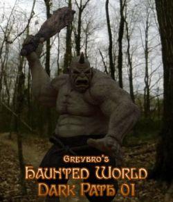 Greybro's Haunted World- Dark Woods Path 01 HDRI