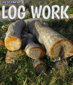 3D Scenery: Log Work
