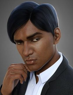 Strictly Business Hair for Genesis 8 Male