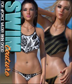SWIM Couture for dForce Wilder Bikini G8F