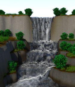 FLUIDOS Presets: Terrace Waterfalls