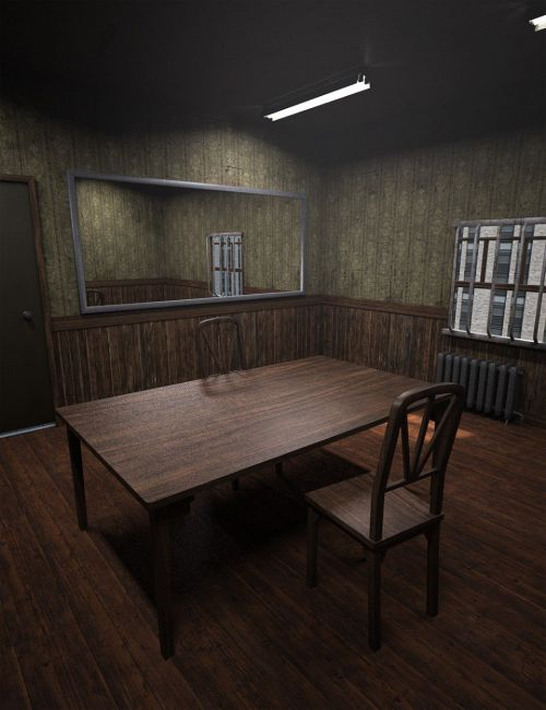 Retro Interrogation Room