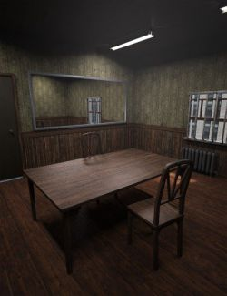 Retro Interrogation Room