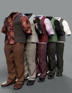 Underbelly Outfit Textures