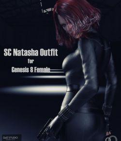 SC Natasha Outfit for Genesis 8 Female