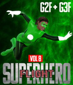 SuperHero Flight for G2F and G3F Volume 8