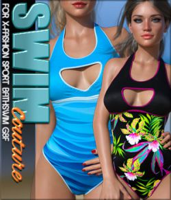 SWIM Couture for X-Fashion Sport Bathsuit