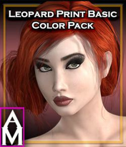 Feline Series: Leopard Print Basic Color Pack for LaFemme
