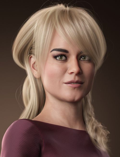 Back Updo Hair for Genesis 3 and 8 Female(s)