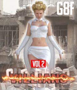 SuperHero Villians for G8F Volume 2
