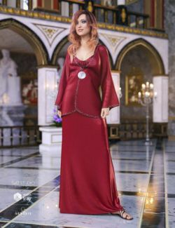 dForce Elegant Prestige Outfit for Genesis 8 Female(s)