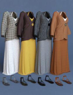 dForce Elegant Prestige Outfit Textures
