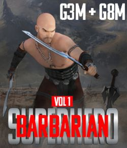 SuperHero Barbarian for G3M and G8M Volume 1