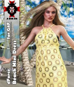 JMR dForce Beach Mini Dress for G8F