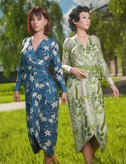 dForce Wrap Dress : Sylvan