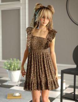 dForce Sincerity Dress for Genesis 8 Female(s)