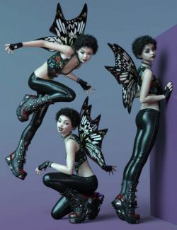 CDI Poses for Daisy 8 and Genesis 8 Female