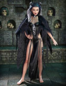 dForce Corveyn Outfit for Genesis 8 Female(s)