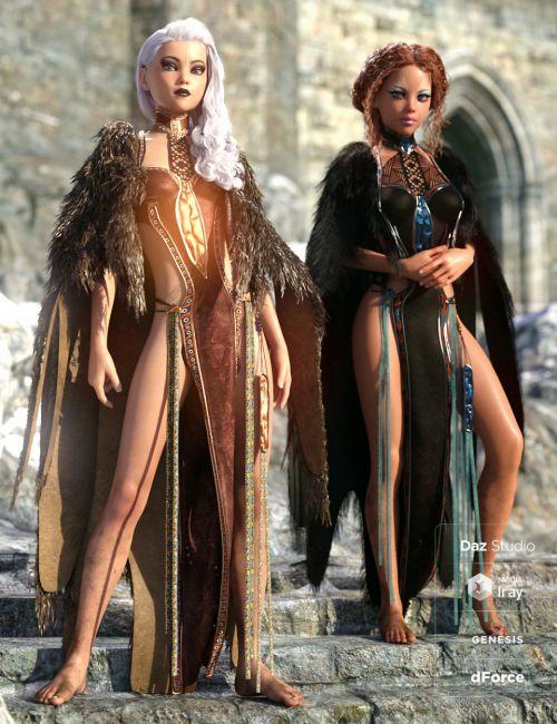 dForce Corveyn Outfit Textures