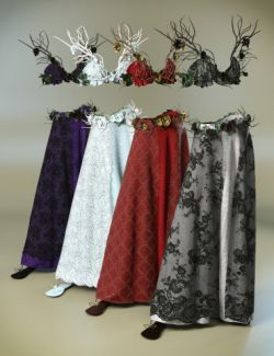dForce Eternal Bloom Outfit Textures