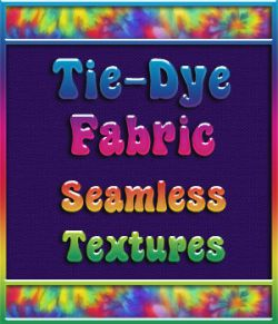Tie-Dye Fabric Seamless Textures